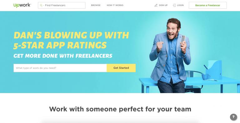 find freelance work online