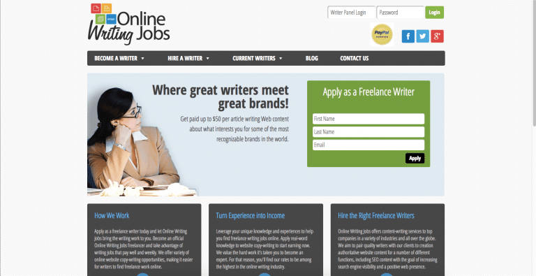 Online jobs for thesis writing