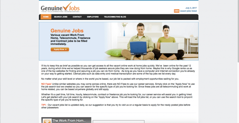 lance jobs websites to well paid work in  genuine jobs genuine jobs link lancers to various work from home telecommute lance and contract opportunities the job database is updated on a