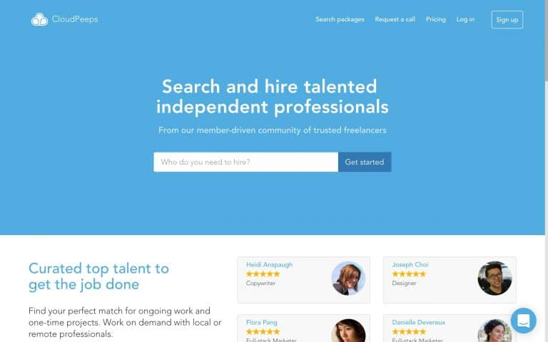 online freelancing sites