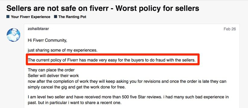 Fiverr Review Why You Should Never Use Fiverr For Freelance Work